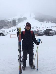Skiing at Shiga Kogen, Nagano